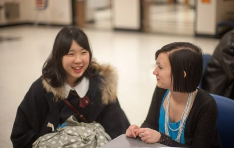 Japanese exchange students arrive, to attend ice cream social March 21