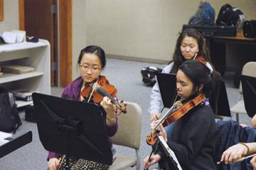 Orchestras prepare  for ISSMA competition