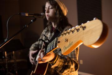 Junior Alanna Rader is a singer/songwriter