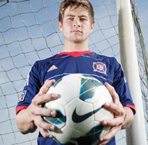 Sophomore Cameron Lindley plays soccer for the U.S. U-17 National Team