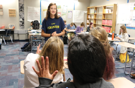 Students recognize division in politics  due to different genders' political values
