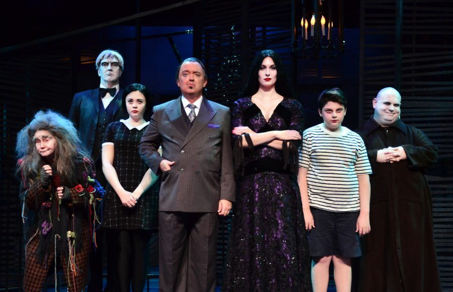 The+cast+of+%22The+Addams+Family%22+performs+%22When+You%27re+An+Addams.%22+The+show+runs+until+Nov.+22.