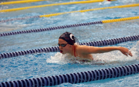 Girls Swimming: Setting A National Record