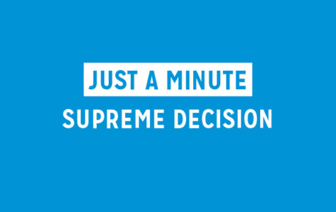 Just A Minute: Supreme Decision