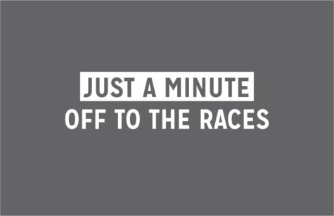 Just A Minute: Off To The Races