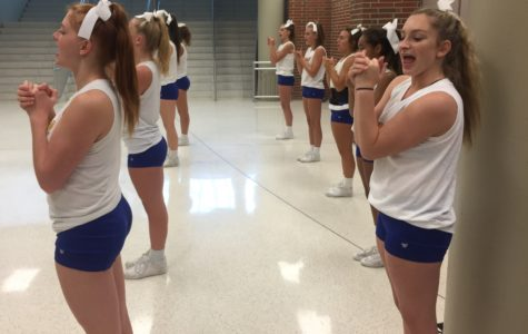 Fall Cheerleading to compete at the Kentucky State Fair Cheerleading Competition on Aug. 27