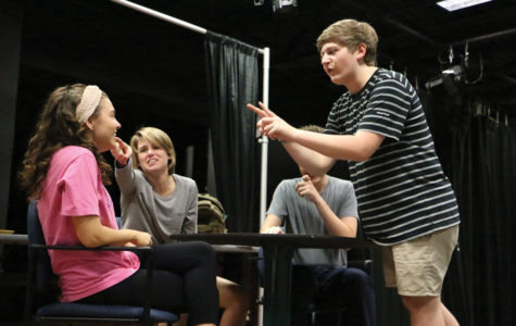 Senior Tanner Chaille to direct first play,  'The Mysterious Act of Critique,' featuring self-aware actors