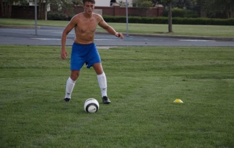Boy's Soccer Team Prepares for Senior Night