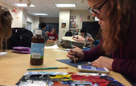 Art Club changes to National Art Honors Society for second semester
