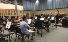 Orchestra members prepare for February events