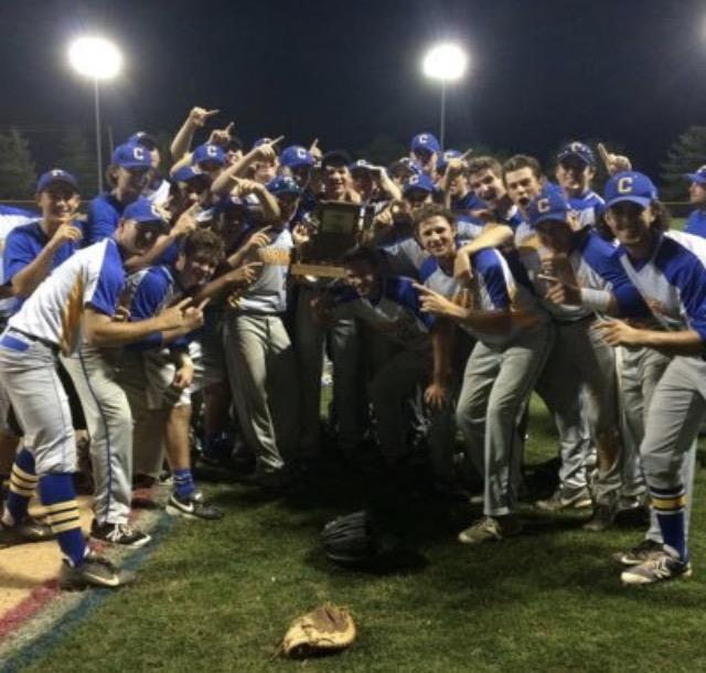 The+CHS+baseball+team+celebrates+their+first+Sectional+Championship+in+16+years.+The+season+gets+started+with+a+scrimmage+against+Hamilton+Southeastern+High+School+on+March+22+at+Hartman+Field+at+5%3A30+p.m.