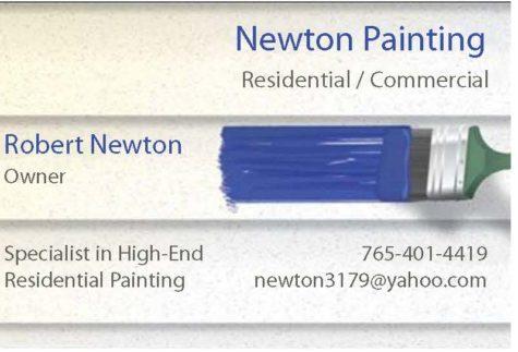 Newton Painting