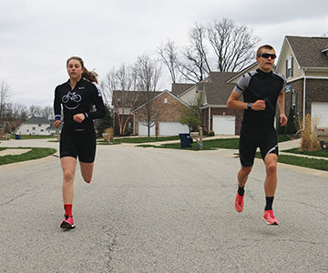 Swim, Bike, Run, Repeat: Carmel triathletes excel as part of Elite Multisport, a nationally recognized triathlon team.
