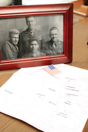 WWII veteran to visit site of D-Day invasion