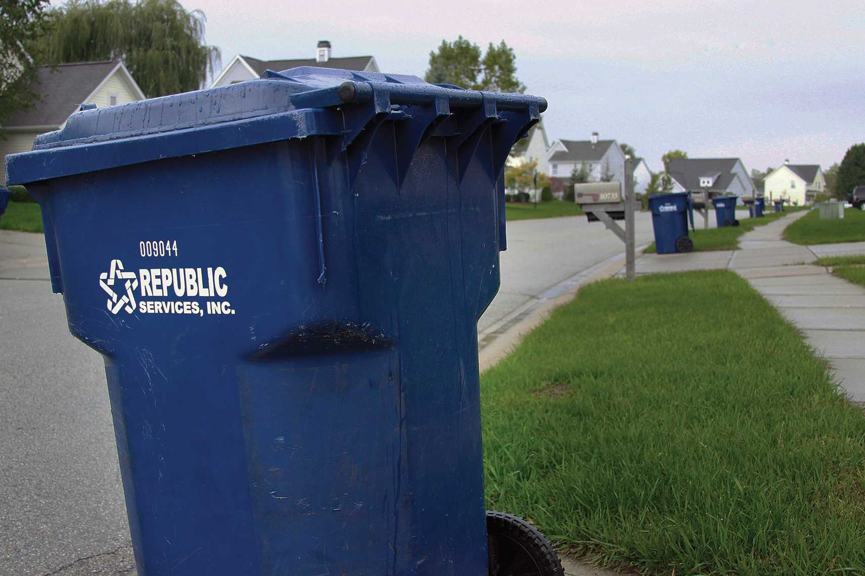 Long Branch Estates has its neighborhood trash pick-up every Thursday. Once city-wide recycling begins, all Carmel residents can begin recycling various materials together without sorting them.