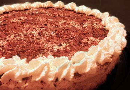 Procrastination = tiramisu cheesecake. CAROLINE ZHANG / PHOTO