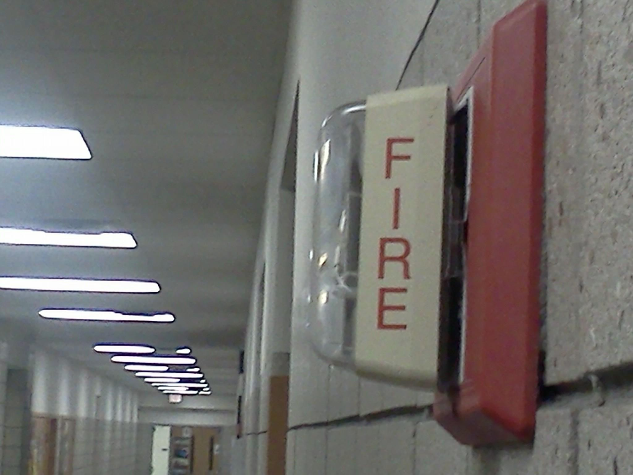 """Not all teachers went to the correct area during Tuesday's fire evacuation. """"Attendance is very important and so while teachers exited appropriately some of them didn't realize that they needed to go to their room assignment number because they were in a different part of the building,"""" assistant principal Amy Skeens-Benton said."""