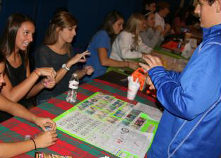 Students at last years Deaf Deaf World participate in the festivities. Attendants will learn about ASL and the deaf lifestyle. SUBMITTED PHOTO