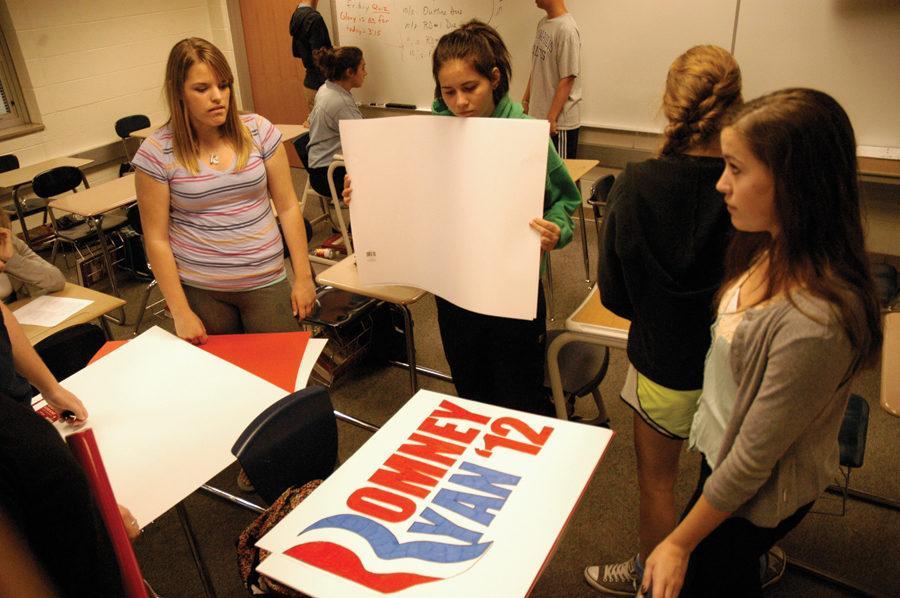 Romney wins CHS Mock Election