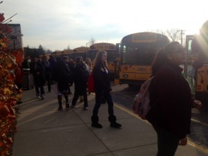 Transportation department encourages students to ride bus in winter
