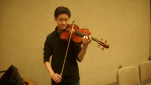 Orchestra prepares for Camerata Chamber Concert March 28