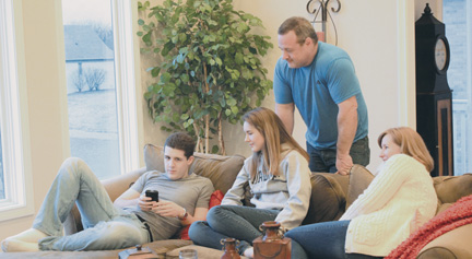 College students returning home affect family dynamics