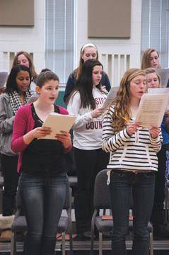 Choirs prepare for May 21 concert