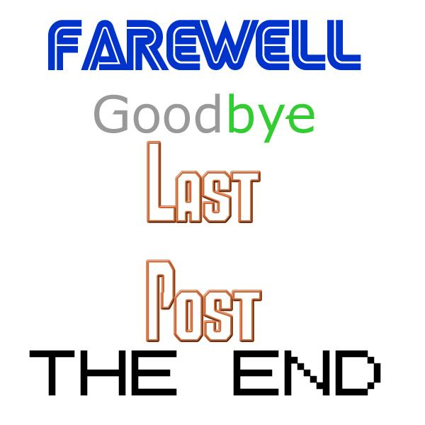 A Good-Bye