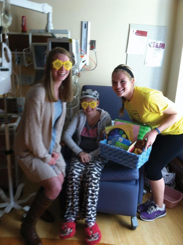 Project Sunshine aids in giving  relief for families with sick children