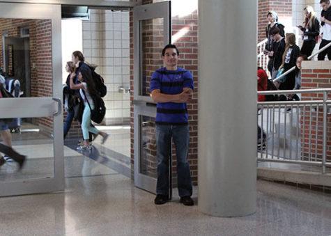 Sophomore Austin Evans. MILES DAI / PHOTO
