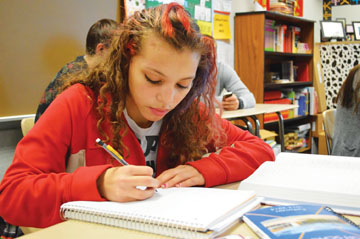 Administration to implement ACCUPLACER test to determine college readiness in students  scoring under a cutoff score on PSAT, ECA, other tests