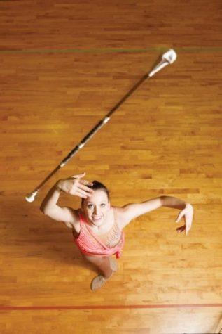 """Adaline """"Adi"""" Bebo is the topped ranked baton twirler in the nation"""