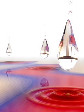 The dropleton: a new state of matter