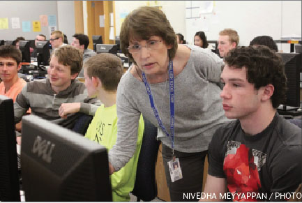 CHS students show an upward  trend in interest for computer science