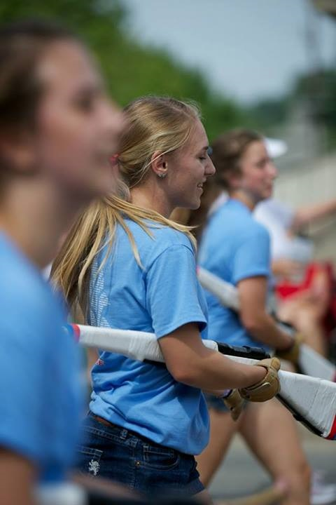 Makenna+Cook%2C+guard+member+and+junior%2C+rehearses+along+with+the+other+members+of+guard.+Colleen+Duffy%2C+guard+member+and+junior%2C+said+the+guard%27s+preparation+for+the+winter+season+will+consist+of+%E2%80%9Cpractice%2C+practice%2C+practice.%E2%80%9D+MAKENNA+COOK+%2F+SUBMITTED+PHOTO