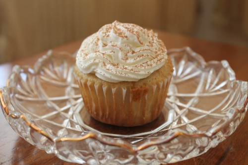 One Last Hurrah: Tiramisu Cupcakes