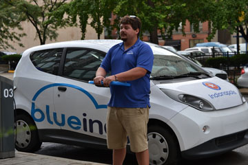 Indianapolis to implement BlueIndy Car Share program downtown