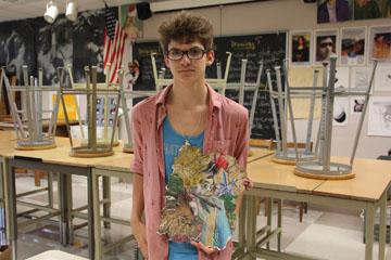 New gallery to host High School Art Display for Carmel International Arts Festival