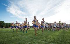 New Coach, Same Goal: men's cross-country team attempts three-peat