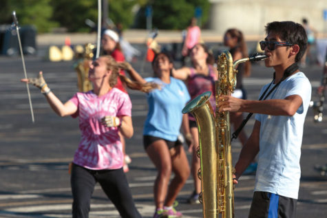 The Show Must Go On: Second place does not dampen marching band's enthusiasm for championships