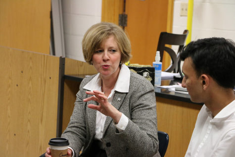 PHOTO ESSAY: Representative Susan Brooks visits CHS