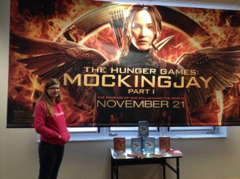 """Media center publicizing """"Mockingjay,"""" holding staff event"""
