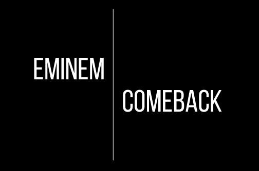Call It a Comeback: Eminem's new album  to come out Nov. 24