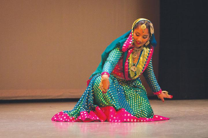 Rhythmic Relaxation: Junior Kamna Gupta dances to relieve stress