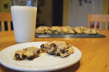 DIY Nutella Cookies