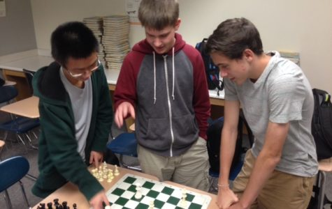 Chess Club practices for state competition