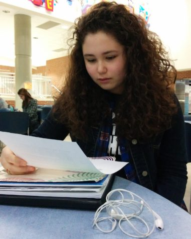 Kiki Koniaris, Key Club member and freshman, plans to volunteer for the Cherry Tree Elementary School science fair. There, club members will run check-in and judge and score projects. MELISSA YAP / PHOTO