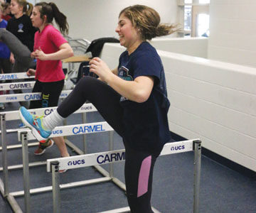 Women's track and field team works toward stronger team unity