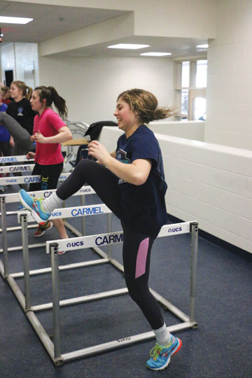 Womens track and field team works toward stronger team unity