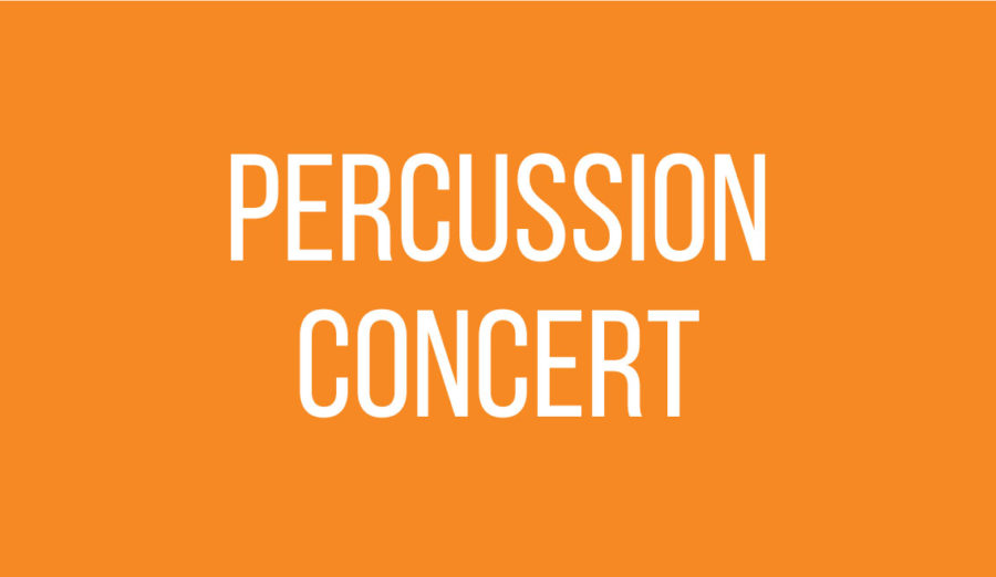 Drum Roll, Please: CHS percussion to hold annual concert
